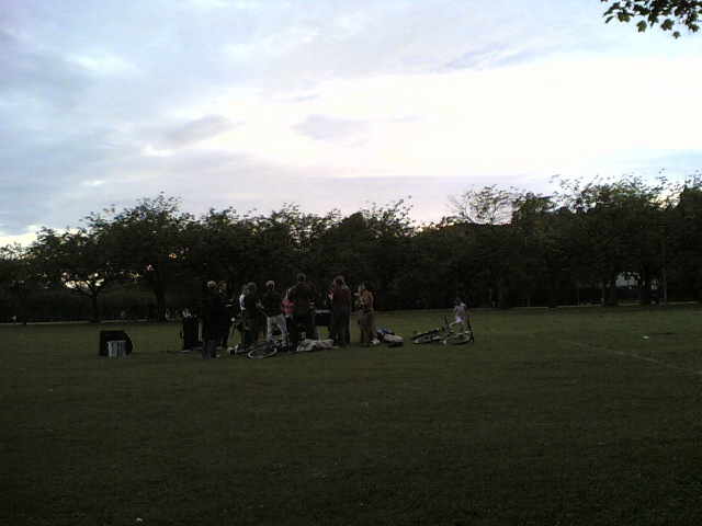 Sunset at the Meadows